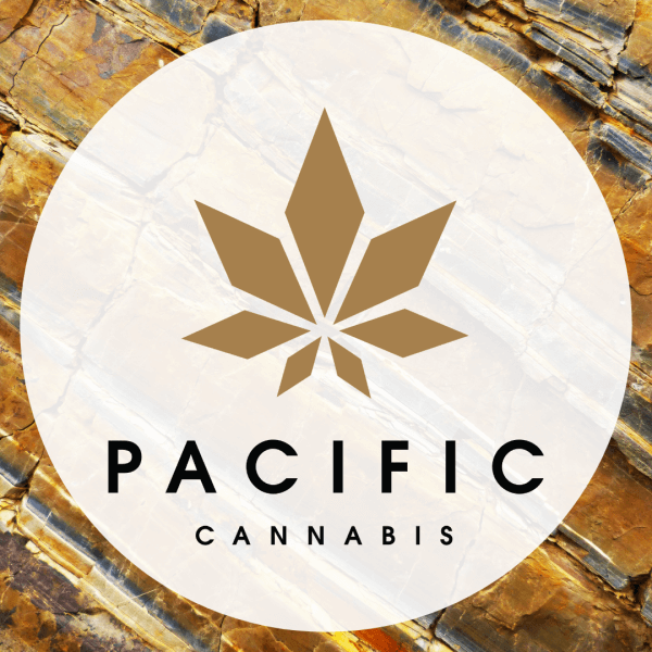 pacific cannabis online diepsnary web design branding